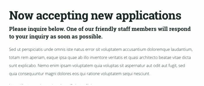 Practical Fonts - Roboto Slab, Open Sans
