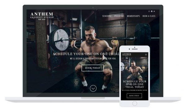 Anthem CrossFit Website