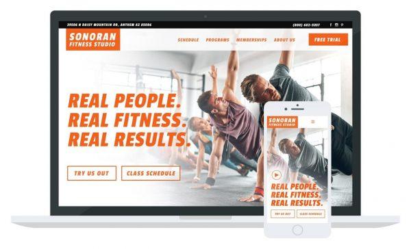 Sonoran Fitness Website