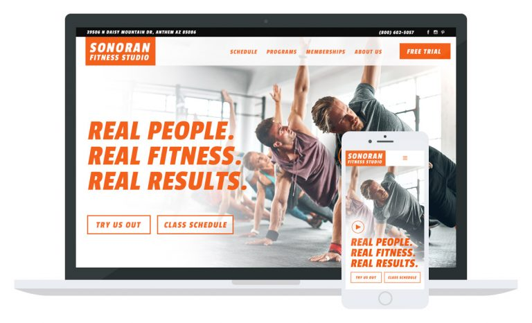 Sonoran Fitness Website