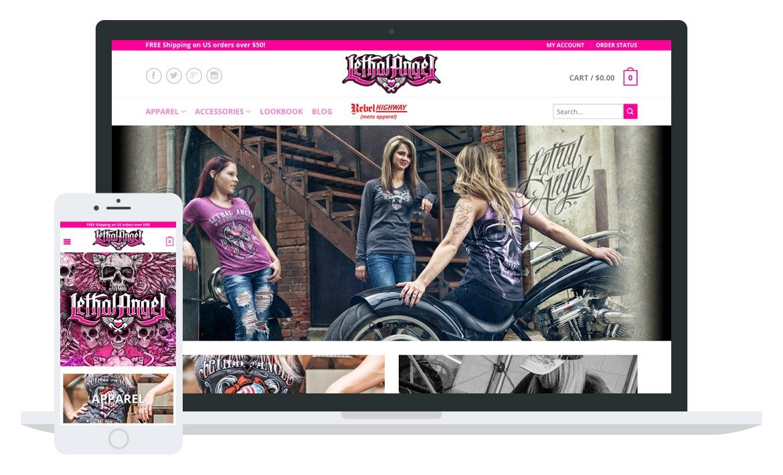 Lethal Angel website