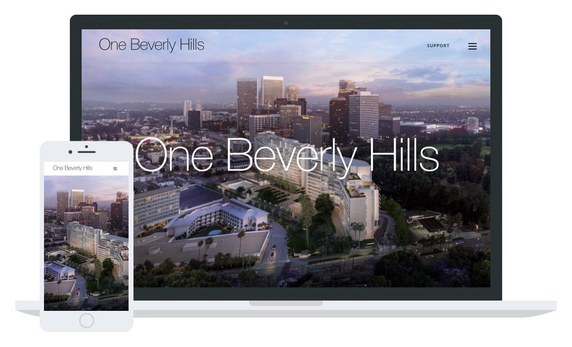 One Beverly Hills website