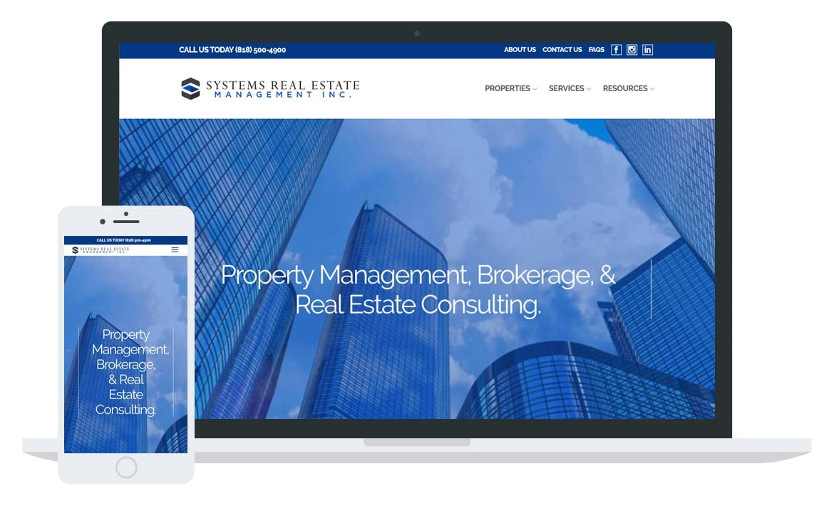 Systems Real Estate website